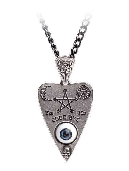 Planchette Ouija Pendant Necklace