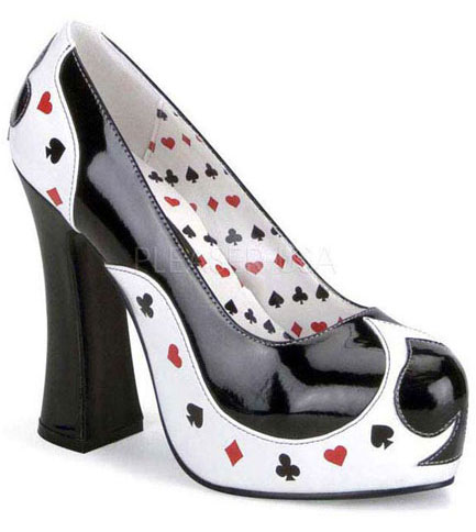 POKER-21 Play Card Heels