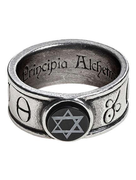 Principia Alchemystica Ring