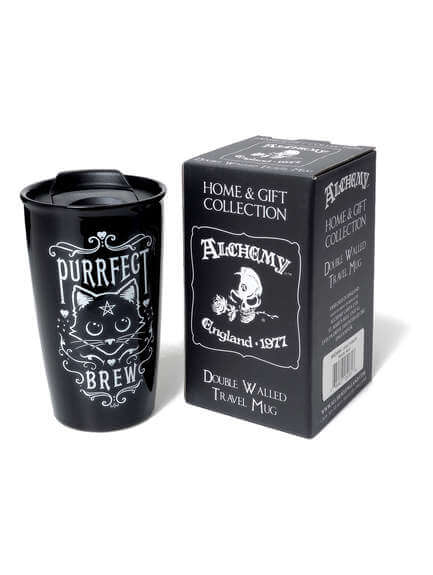 Purrfect Brew - Double Walled Mug