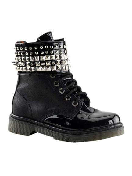 RIVAL-106 Black Pyramid Boots