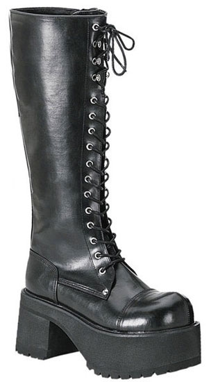 RANGER-302 men's black knee high boots