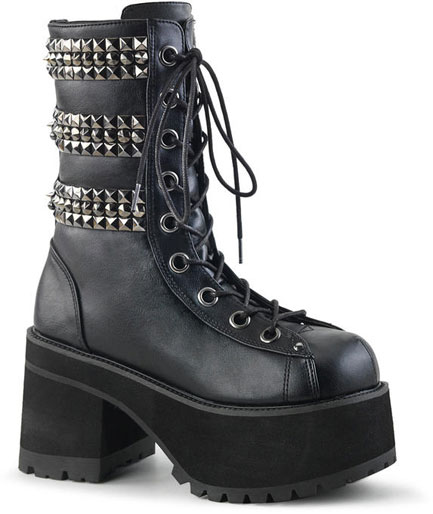 RANGER-305 pyramid studded boots