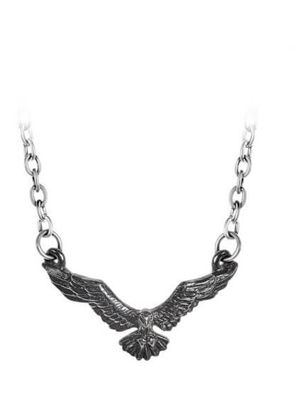Ravenette Pendant Necklace