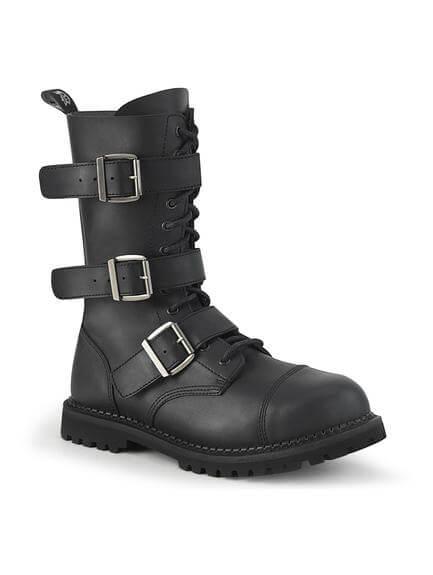 RIOT-12 Vegan Leather Combat Boot