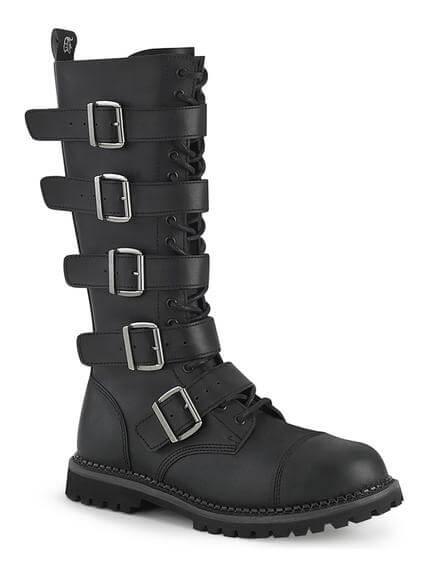 RIOT-18 Vegan Leather Combat Boots