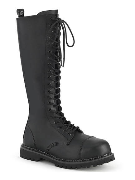 RIOT-20 Vegan Leather Combat Boots