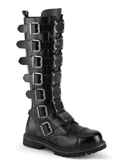 RIOT-21 Leather Combat Boots