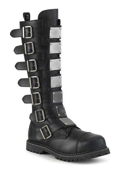 RIOT-21 Vegan Leather Combat Boots