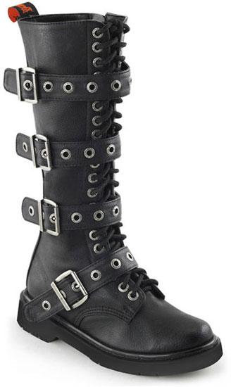 RIVAL-404 Black Combat Boots