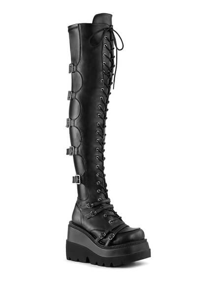 SHAKER-350 Over-The Knee Boots