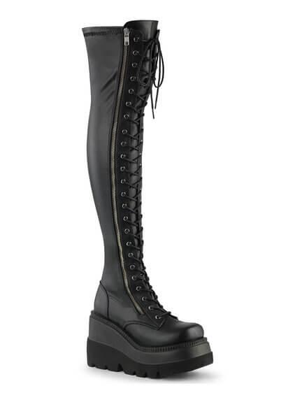 shaker-374 womens platform boot