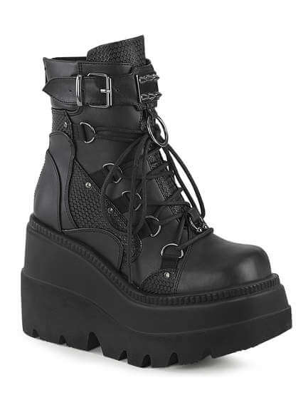 SHAKER-60 Wedge boots