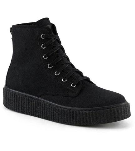 SNEEKER-201 canvas sneaker boots