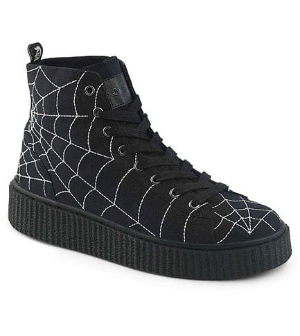 SNEEKER-250 spider web sneakers