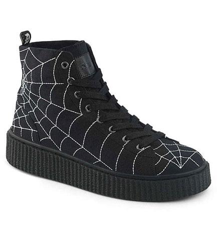 SNEEKER-250 spider web sneakers