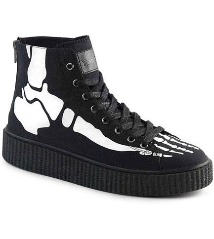 SNEEKER-252 Xray bone sneakers
