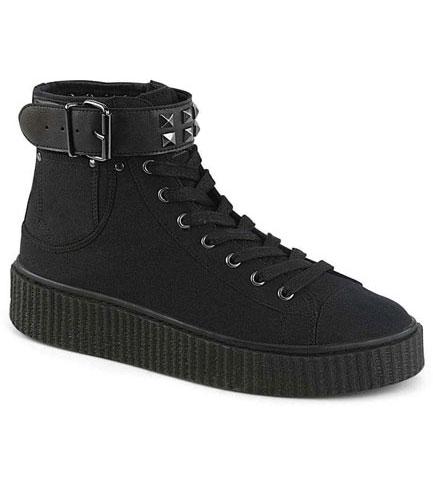 SNEEKER-255 canvas sneaker boots