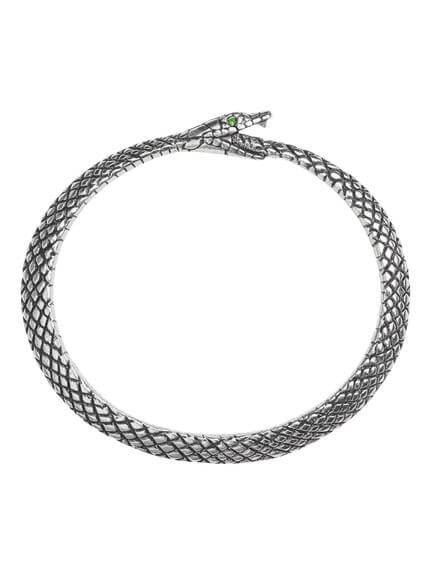 The Sophia Serpent Bangle
