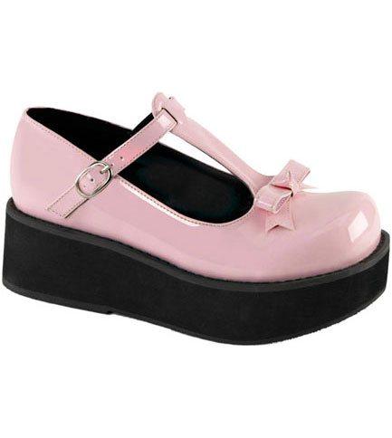 SPRITE-03 Pink Platform Shoes