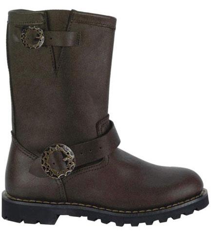 STEAM BOOT Brown Steampunk Boots