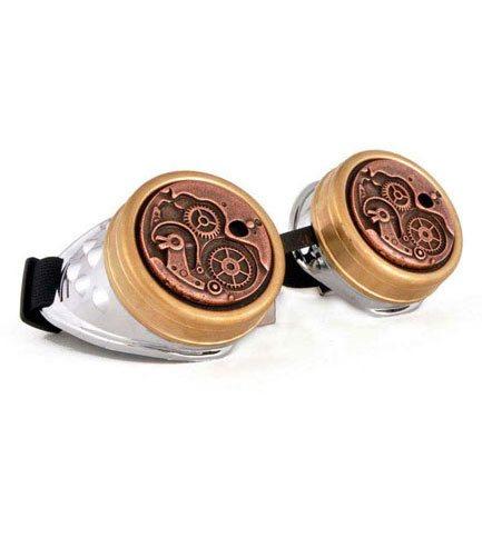 Steampunk Gears Goggles