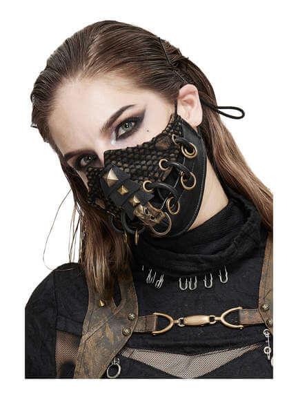 Stitched Raven Skull Mask