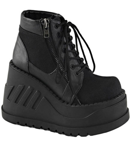 STOMP-10 Vegan Platform Shoes