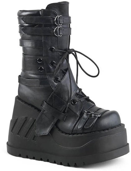 STOMP-26 Platform Wedge Boots