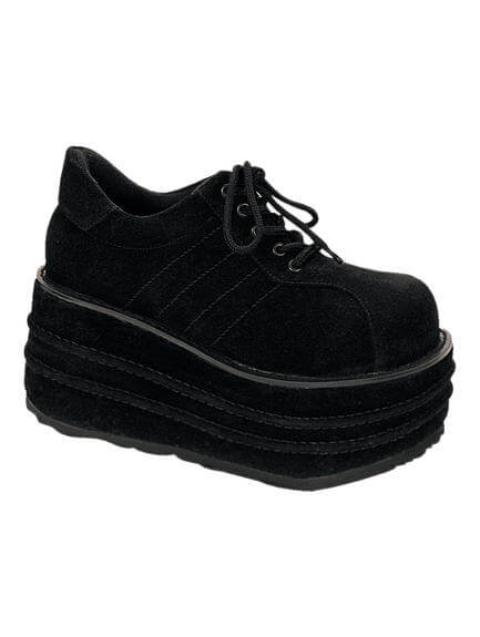 TEMPO-08 Black Veggie Shoes