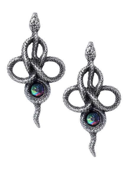 Tercia Serpent Earrings