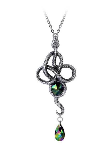 Tercia Serpent Pendant Necklace