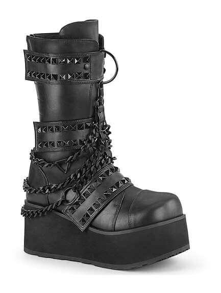 Trashville-138 mens platform boots