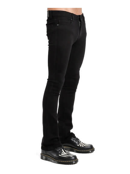 Black Boot Cut Men's Jeans