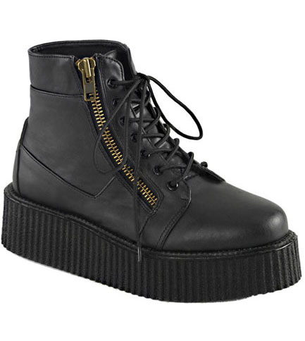 V-CREEPER-571 Black Creeper Boots