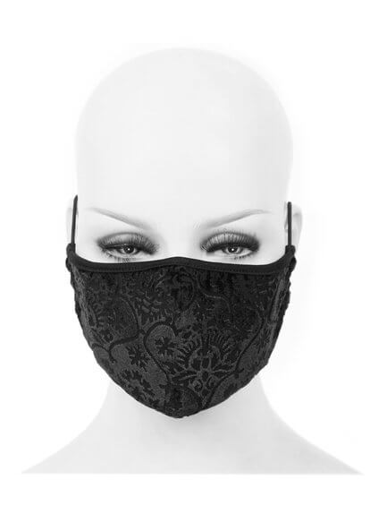 Gothic Velvet Face Mask - Non-Medical