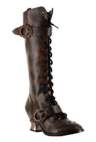 VINTAGE Brown Steampunk Boots