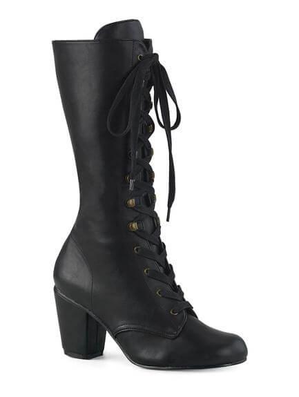 VIVIKA-205 Block Heel Steampunk boots
