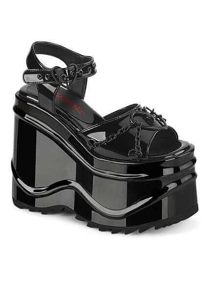 Wave-09 platform sandals