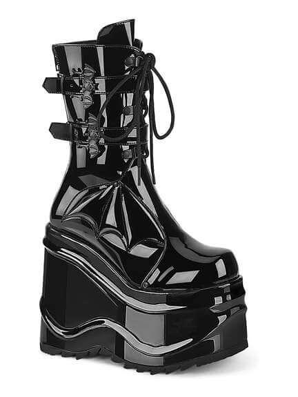WAVE-150 Patent Bat Platform Boots