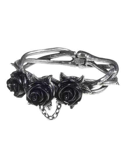 Wild Black Rose Bracelet