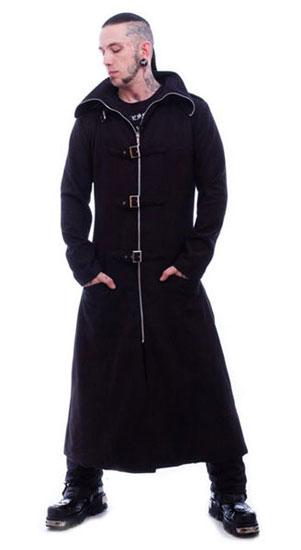 Mens Woolen Highwayman Coat