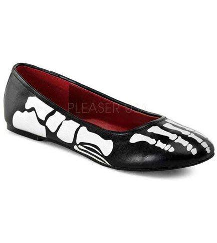 X-RAY-01 Skeleton Flat Shoes
