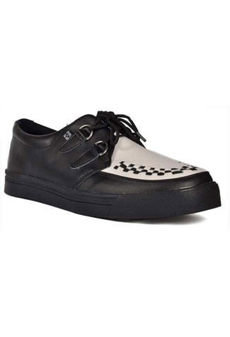 T.U.K. A6092 - White Creeper Sneakers