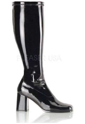 GOGO-300WC Wide Patent Boots