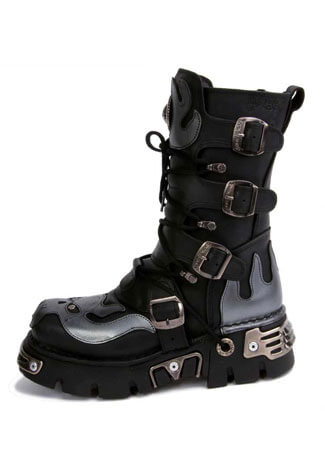 New Rock M107-S2 Leather Boots