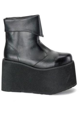 MONSTER-02 Black Platform Boots