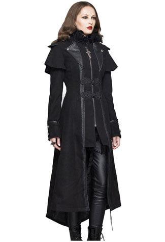 Serenity Women's Gothic Trench Coat