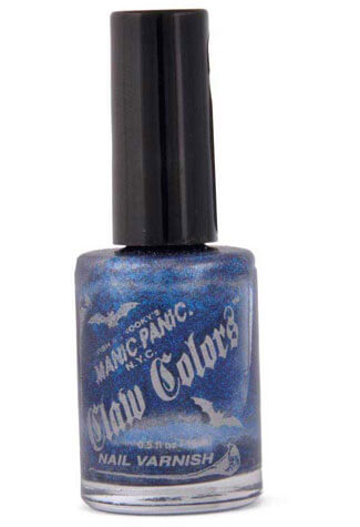 After Midnight Blue Nail Polish