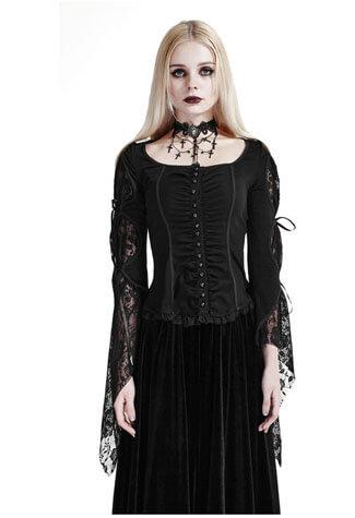 Amethyst Gothic Womens Shirt